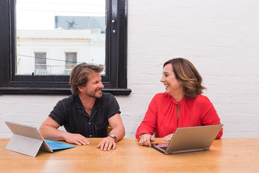 Choovie founders Shane Thatcher and Sonya Stephens share their startup funding success story
